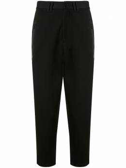 Blackbarrett укороченные зауженные брюки B06XTR443BLK