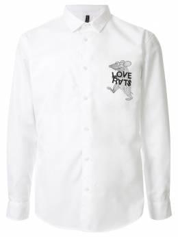 Blackbarrett рубашка стандартного кроя A43XCM486WHB