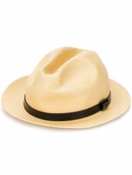 Emporio Armani шляпа-федора с логотипом 6272578P583