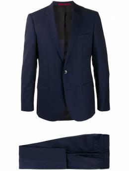 Hugo костюм-двойка с однобортным пиджаком 50422882