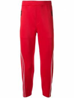 Blackbarrett спортивные брюки с контрастным кантом 1DUXJP896REW