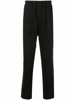 James Perse брюки прямого кроя с кулиской MNM1185