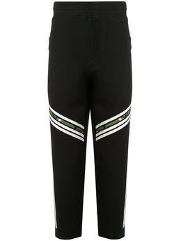 Blackbarrett спортивные брюки с контрастными полосками 1ECXJP895BWC