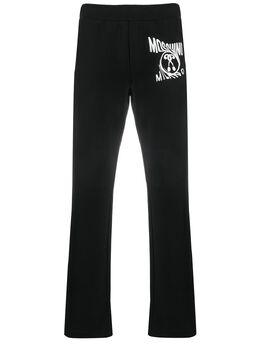 Moschino спортивные брюки с логотипом A03330227