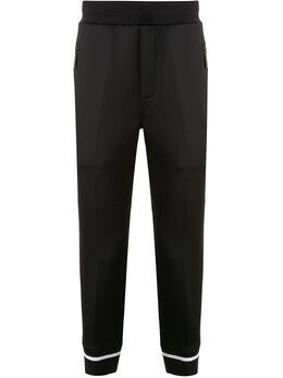 Blackbarrett спортивные брюки с контрастными полосками 1DUXJP897BLW