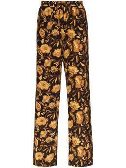 Matteau брюки с цветочным принтом DRSTT