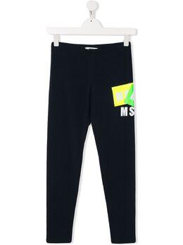 MSGM Kids спортивные брюки с логотипом 022078