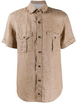 Eleventy рубашка с карманами A75CAMA20TES0A196