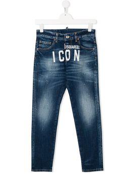 Dsquared2 Kids джинсы Icon с логотипом DQ04ETD00Z0