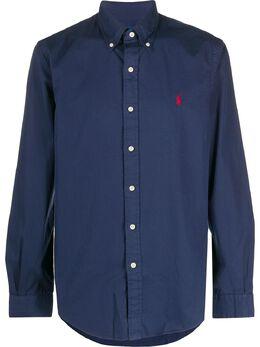 Polo Ralph Lauren рубашка на пуговицах с вышитым логотипом 710794604