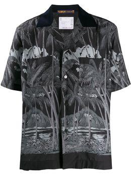 Sacai рубашка Diamond свободного кроя 2002192M