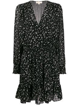MICHAEL Michael Kors платье в мелкую точку MH98XEYDCX