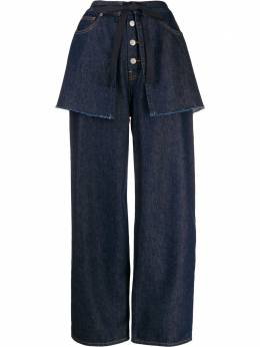 Mm6 Maison Margiela джинсы широкого кроя S52LA0118S30460
