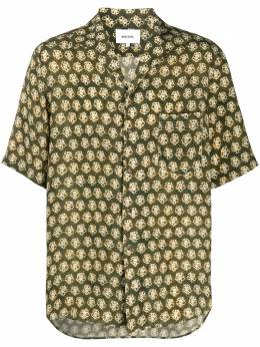 Nanushka рубашка с принтом тай-дай MSB00027VILLE