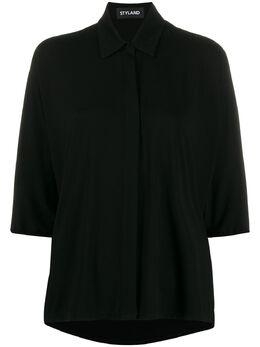 Styland блузка свободного кроя с укороченными рукавами 3082100