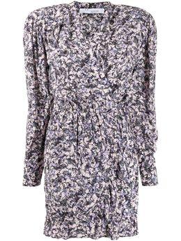 Iro приталенное платье мини с цветочным принтом WP33BRASEY