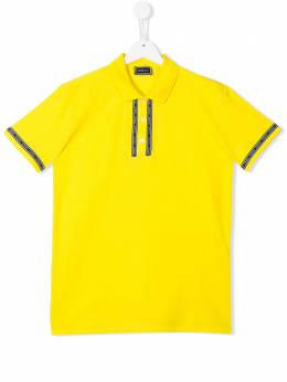 Young Versace рубашка-поло с логотипом YD000087YA000761