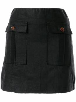 Venroy юбка с передними карманами WPPSKRTBLK