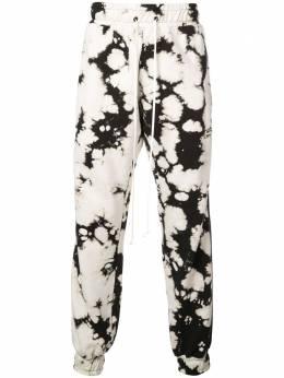 Daniel Patrick спортивные брюки с графичным принтом DP1900101320WH