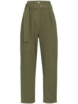 Low Classic брюки с завышенной талией STITCHBELTPANTS