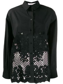 See By Chloe рубашка с вышивкой CHS20SHT38022