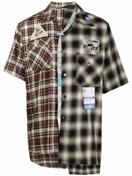 Maison Mihara Yasuhiro рубашка в клетку A04SH151