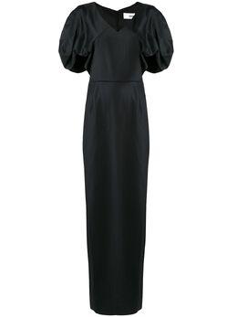 Chalayan платье с драпировками WN404FN101BKGS