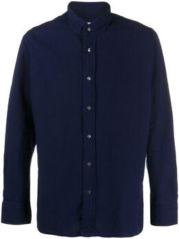 Tagliatore фактурная рубашка прямого кроя BAE10046MYKONOSJ