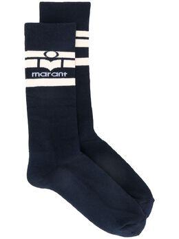 Isabel Marant носки Vibyh с логотипом CT006719A017J