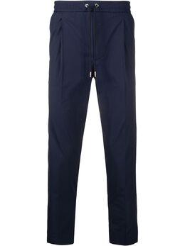 Moncler зауженные брюки с кулиской F10912A71000549P5