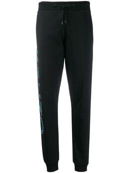 Kenzo спортивные брюки с логотипом FA52PA722953