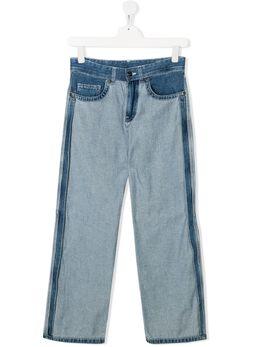 No.21 Kids джинсы прямого кроя с открытым швом N2148RN0074