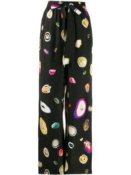 Dvf Diane Von Furstenberg брюки Agate с принтом 13815DVF