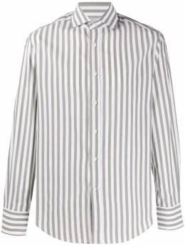 Brunello Cucinelli полосатая рубашка с длинными рукавами MW6121718C033