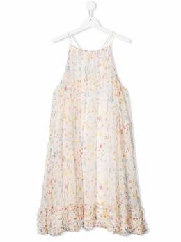 Stella McCartney Kids платье с цветочным принтом 589321SOKD7