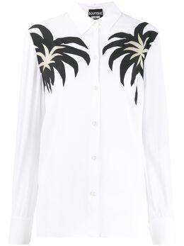 Boutique Moschino рубашка с принтом J02071137