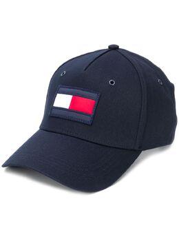 Tommy Hilfiger кепка с вышитым логотипом AM0AM05611