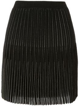 Dion Lee мини-юбка годе со складками A7340R20