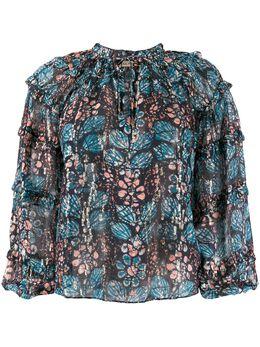 Ulla Johnson блузка с абстрактным принтом PS200223