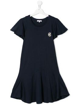 Chloe Kids расклешенное платье с короткими рукавами C12778849