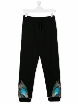 Marcelo Burlon Kids Of Milan спортивные брюки с принтом 30010020