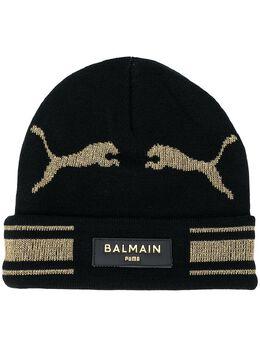Puma шапка бини из коллаборации с Balmain 2266401