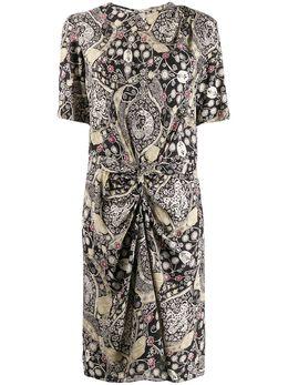 Isabel Marant Etoile платье со сборками и принтом пейсли RO164920P024E