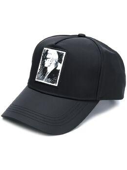 Karl Lagerfeld кепка Portrait 200W3404999