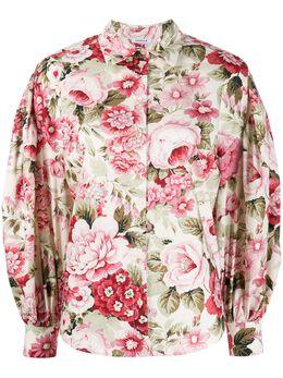 P.a.r.o.s.h. рубашка Corus с цветочным принтом CORUSD380467