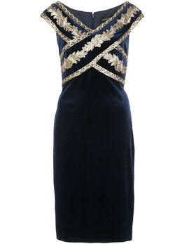 Tadashi Shoji платье Taman с пайетками BAL19068M