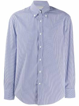 Brunello Cucinelli полосатая рубашка MW6051716C005