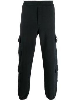 Buscemi спортивные брюки с эластичным поясом BMS20303