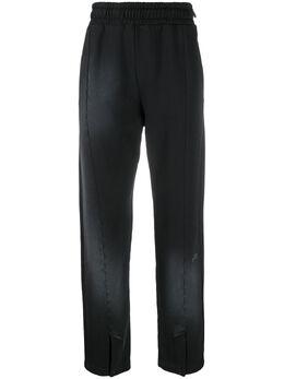 A-Cold-Wall* брюки с эффектом потертости MB013WHL