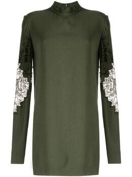 Dion Lee платье мини с кружевной аппликацией A9639R20